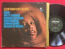 LES MCCANN PLAYS THE HITS (1966) LIMELIGHT LS 86041 STEREO LP SOUL JAZZ