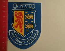 Aufkleber/Sticker: KNVB afd Noord Holland (261216114)