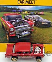 2018 Hot Wheels Car Meet '55 Chevy Bel Air Gasser LOOSE