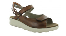 Wolky Pichu Cognac Smooth Comfort Ankle Strap Sandal Women's sizes 36-42/5-11NEW