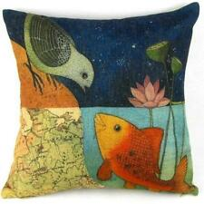 Linen cotton Soft Bed Home Sofa Decoration Throw Pillow Case Cushion Cover
