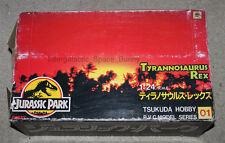Tsukuda Jurassic Park 1/24 PVC Tyrannosaurus Rex Figure T-Rex Boxed