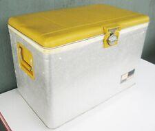 Vintage Mid Century Sears Ted Williams Endorsed 52-Quart Aluminum Cooler