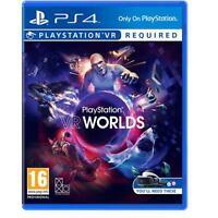 PlayStation VR Worlds (PS4 PSVR) Game UK PAL NEW SEALED
