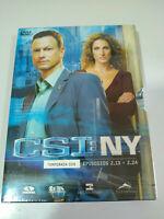 CSI NEW YORK NY Temporada 2 - parte 2 - Capitulos 2.13-2.24 DVD Nuevo AM
