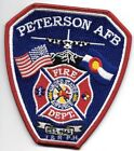 """*NEW STYLE*  Peterson  A.F.B., Colorado Springs, CO (4"""" x 4.5"""" size)  fire patch"""