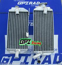 R&L aluminum radiator for HONDA CRF450R CRF 450R CRF 450 R 2013 2014 13 14