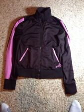 Volcom jacket womens size small. Brown With Pink Stripes. Zippered. KED