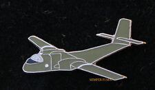 C-7 CARIBOU DHC4 CV2 US ARMY Parachute HAT LAPEL PIN TIE TAC de Havilland WING
