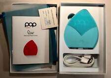 Pop Sonic Leaf Facial Cleansing Exfoliating Device ~ Tiffany Blue ~ New In Box