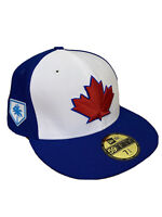 Toronto Blue Jays New Era 59Fifty MAPLE LEAF Fitted Hat 7-3/4 NEW Spring Train