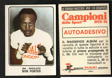"Robert Bob Foster ""The Deputy Sheriff"" (USA) Panini Boxing CARD 1973 NEW n.294 ▓"