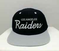 Los Angeles Raiders Snapback NEW Authentic Hat Oakland Script NFL Cap Flat bill
