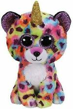 """TY Beanie 6"""" Plush Giselle Leopard with horn"""