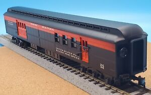 Vintage AHM Rivarossi HO Scale 6280-N New Haven 1920 Baggage R.P.O. Car