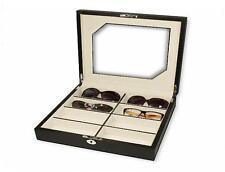 Estuche guarda 8 gafas Pu Carbon Fibe
