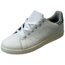 Zapatillas deportivas de mujer en blanco color principal plata