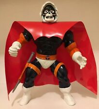 Custom Red vinyl Replacemt Cape Remco skullman Warrior Beasts (Cape Only)