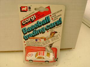 1982 CORGI METTOY #401 FORD MUSTANG COBRA BOSTON RED SOX BASEBALL TRADING CAR