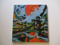 24 INCH GERALD ROWLES PAINTING EXPRESSIONIST ABSTRACT MODERNIST LANDSCAPE