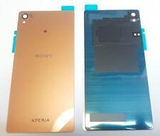 Sony Xperia Z3 D6603 Akkudeckel Backcover kupfer gold mit NFC Antenne