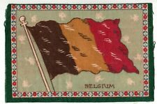 3 Flags of Belgium Vintage tobacco premium felts