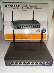 NETGEAR FVS318N ProSafe Wireless-N 8-port Gigabit Switch VPN Firewall