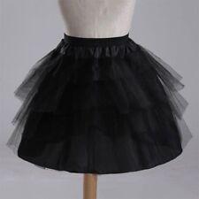 Flower Girl Bridesmaid 4 layer Underskirt Short Petticoat Tutu Wedding Net Skirt