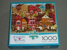 BUFFALO GAMES  1000 pc puzzle  CHARLES WYSOCKI - LILAC POINT GLEN - COMPLETE EC