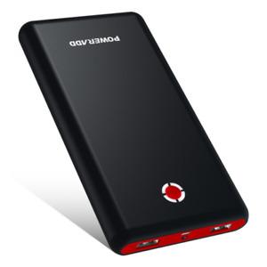POWERADD Pilot X7 20000mAh Cargador Power Bank para Celulares - Negro/Rojo...