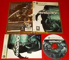 DARK SECTOR XBOX 360 DarkSector Versione Italiana 1ª Edizione ○ COMPLETO - FG