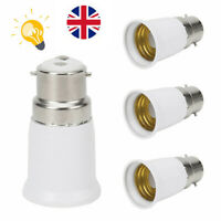 1pc BC B22 to ES E27 Adaptor Bayonet Edison Screw Light Bulb Converter Holder UK