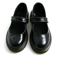Dr. Martens Junior Maccy patent Leather Mary Jane Shoes Black size13