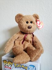 Ty Beanie Babies Curly The Bear Plush - 4052 RARE WITH ERRORS. Minor tag damage