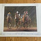 Christine Picavet / A Celebration to Affirmed / Signed 271/400 / Horse Racing