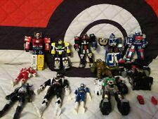 Vintage Power Rangers Mixed Megazord Figure & play set part Lot Bandai 93 to 01