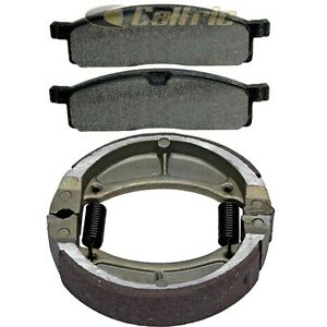 Front & Rear Brake Shoes for Yamaha YZ80 YZ80 1986 1987 1988 1989 1990 1991 1992