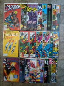 Marvel- Uncanny X-MEN, Wolverine, Nova, Midnight Sons & MORE Comics LOT 25   HTF
