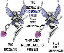 Three Love Fairy Necklaces - 3Rd Necklace Included Free plus Free Shipping!*