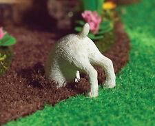 1:12 Scale Dexter The Digging Dog Dolls House Miniature Garden