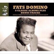 Fats Domino: 8 Classic Albums (4-Disc Box Set) (CD, 2012) NEW! FREE Shippjng!