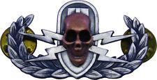 Explosive Ordnance Skull Badge EOD Bomb Disposal Military Insignia Crab Pin EODS
