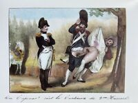 Napoleon Bonaparte French Revolution Army Grenadier Sex Akt Penis Vagina 1840