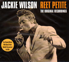 JACKIE WILSON - REET PETITE- 2 ORIGINAL ALBUMS + BONUS TRACKS (NEW SEALED 2CD)