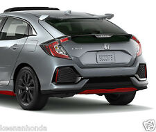 Genuine OEM Honda Civic 4Dr Hatchback Rear Under Body Spoiler 17-18 LX EX EX-L