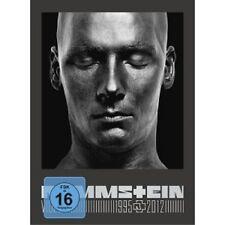 """Rammstein """"video 1995-2012"""" 3 DVD DIGIPACK Angelo hai fuoco libero e molto altro Nuovo"""