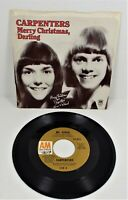 Carpenters - Merry Christmas Darling / Mr. Gruder - A&M Records - 45 - VG++