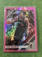 Bam Adebayo 2019-20 Optic Donruss - Hyper Pink Prizm - Miami Heat #41