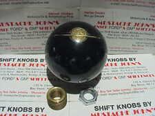 Oldsmobile globe logo, GM Licensed Shift Knob (black pearl)