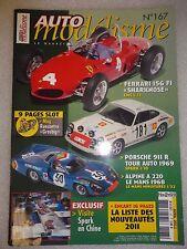 Magazine Auto modélisme N°167 Avril 2011.